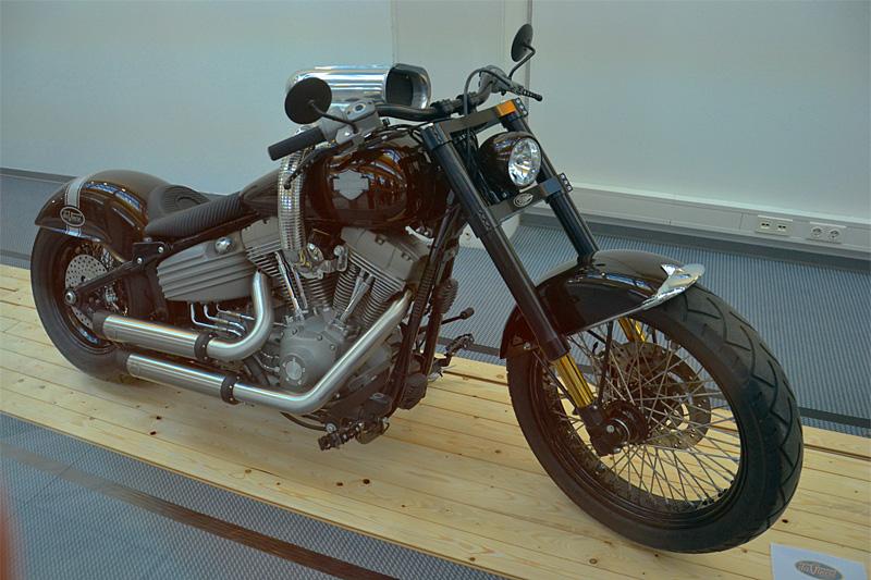 Coole Sache: Custom-Bikes und Chopper erfreuen auch den Quadfan!