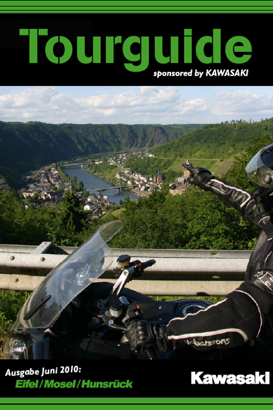 20 Seiten voller Touren: Der Tourguide von Kawasaki.