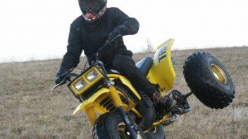 Klassik-Test: Yamaha Tri-Z 250