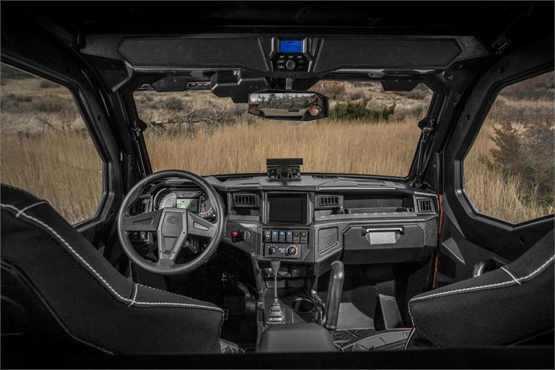 Cockpit: alles neu und sehr aufgeräumt