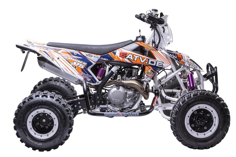 Ergonomisch, kompakt, stark: E.-ATV 450 SX-F