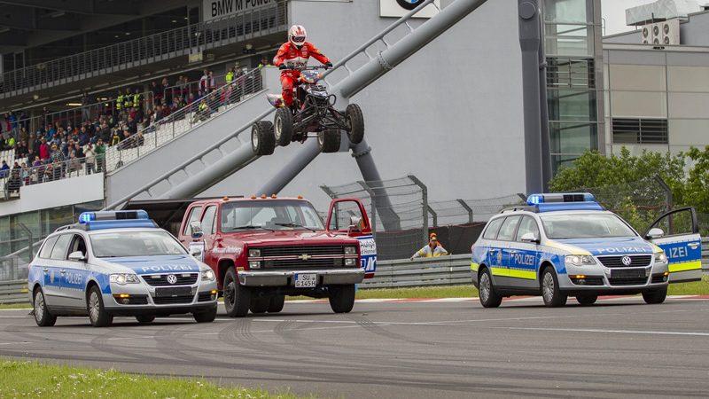 Verfolgungsjagd auf dem Nürburgring