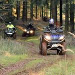 Abenteuer bei ATV-Quad-Tour