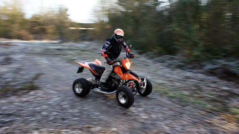 Klassik-Test: E.-ATV 690 Enduro