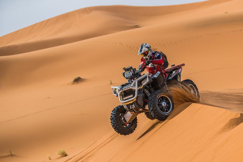 Faszination Rallye-Raid: Immer mehr ATVs wagen sich an den Start.