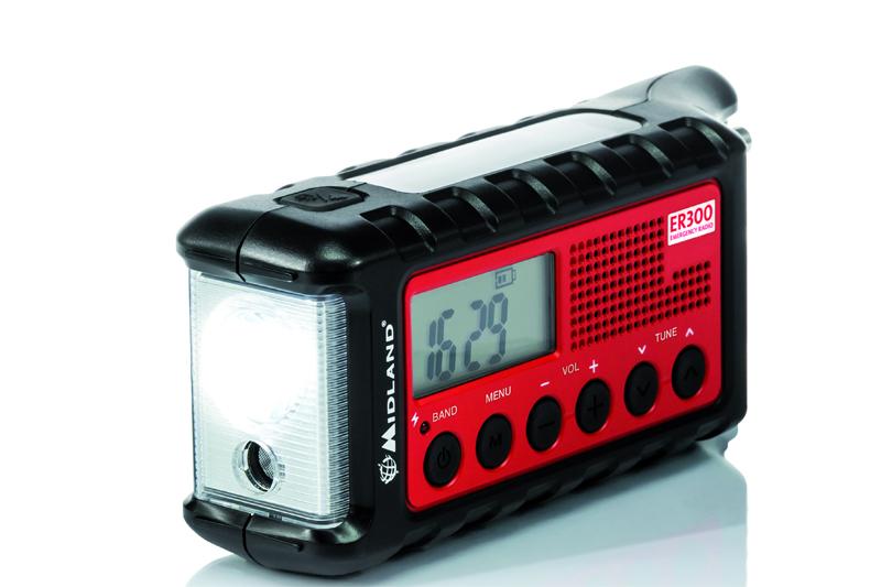 Leistungsstarker Zwerg: Das Outdoor-Radio MIDLAND ER 300.