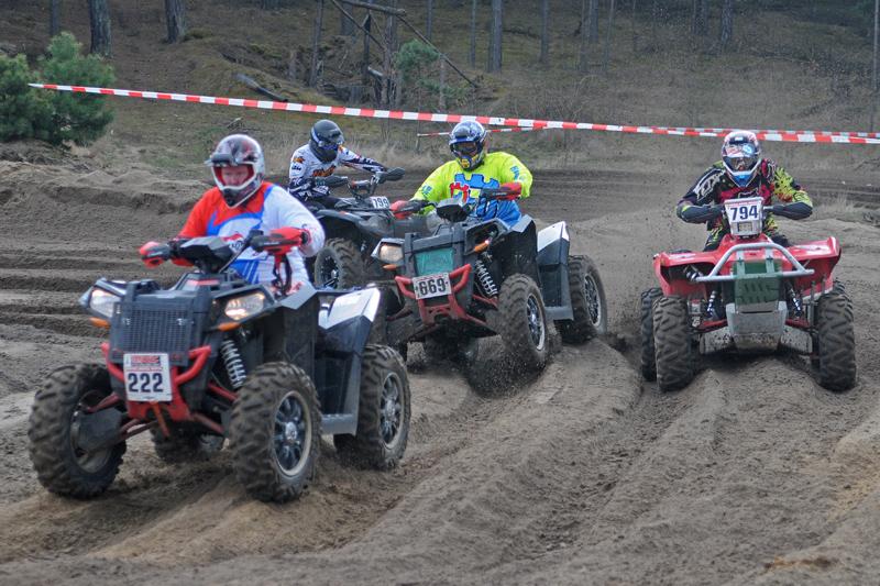 ATV-Klasse: Heiße Kämpfe auf den schweren Boliden.