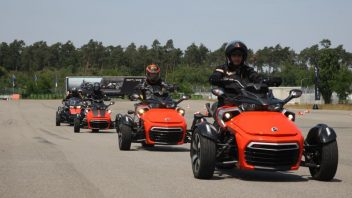 Can-Am Spyder Experience Tour 2015