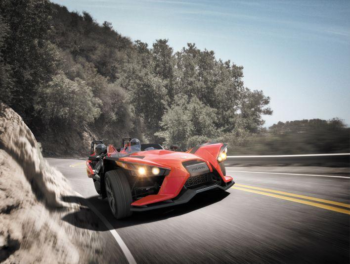 Kurvenräuber: der 2,4 Liter große Motor verspricht beste Leistung.
