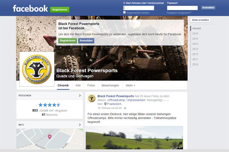 Auf der Facebookseite von BFQ ist die Dakar im Tagebuchstil verfolgbar.