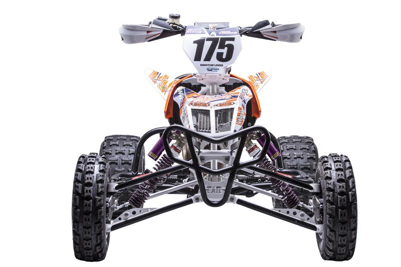 Neue Moto-Cross-Waffe von E.-ATV: Ein völlig neues Sport-Quad.
