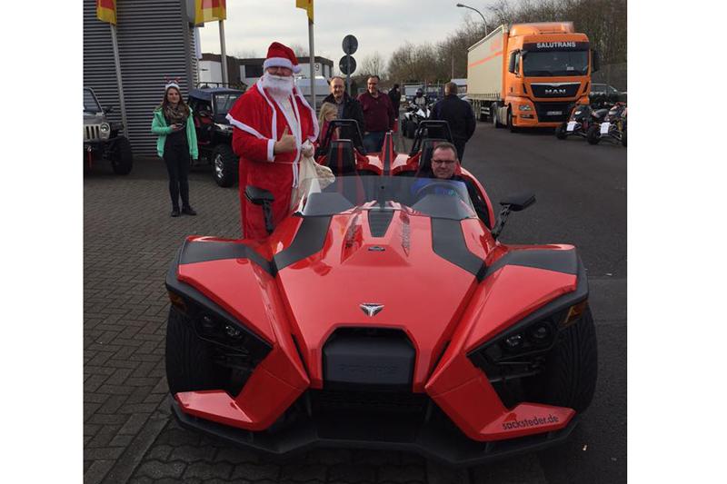 Special Guest am 10. Dezember: Der Nikolaus.