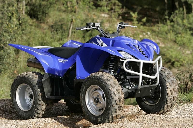 Klassik test wolverine 450 4 4 quadwelt for Yamaha wolverine 450 for sale